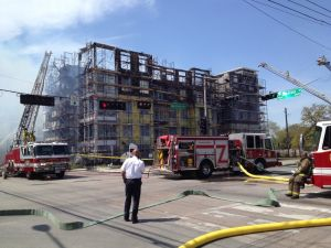 Fire Damages Montrose Area Building: Houston Fire News | Houston, Pasadena, Pearland, Kingwood and The Woodlands