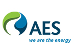 AES Corporation Electric power distribution company Logo